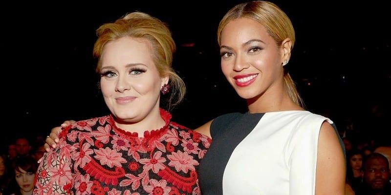 Photo de Adele félicite et adresse un message touchant à Beyonce