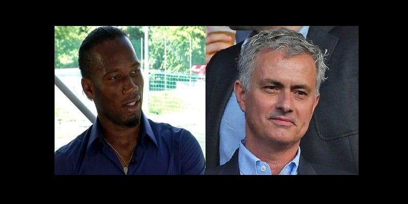 Photo de Drogba explique comment Mourinho a fait de lui un grand attaquant