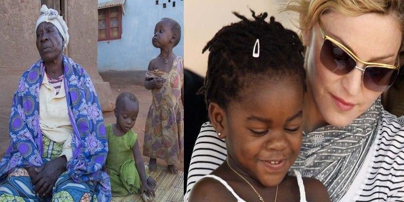 Photo de La grand-mère de la fille africaine de Madonna veut revoir sa petite fille