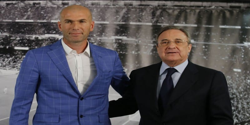 Photo de Real Madrid : Florentino Pérez impose un joueur à Zidane