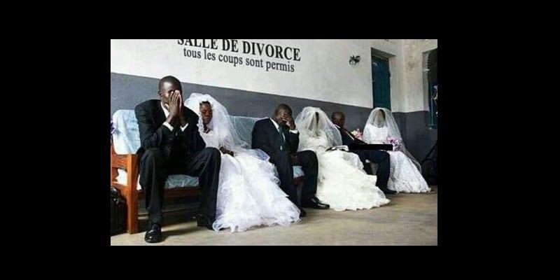 Photo de Un juge décide que le divorce des couples ne sera prononcé qu'en tenue de mariage