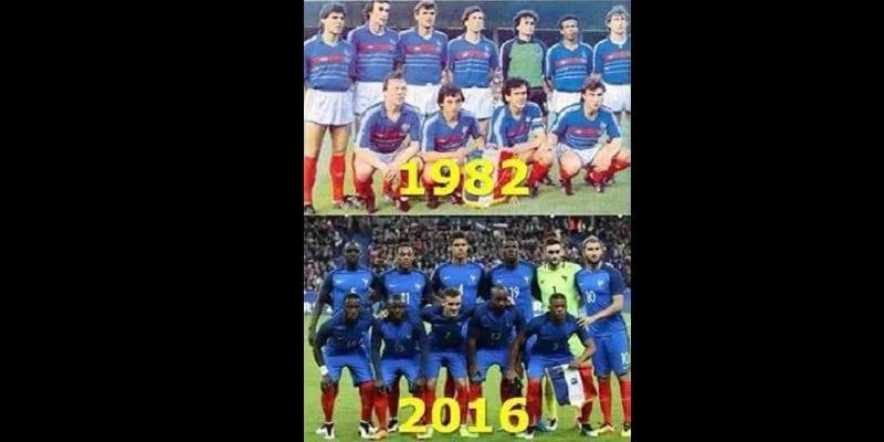 """Photo de Marine Le Pen a-t-elle raison de traiter l'actuelle équipe de France """"d'équipe ivoirienne"""" et de """"tirailleurs sénégalais""""?"""