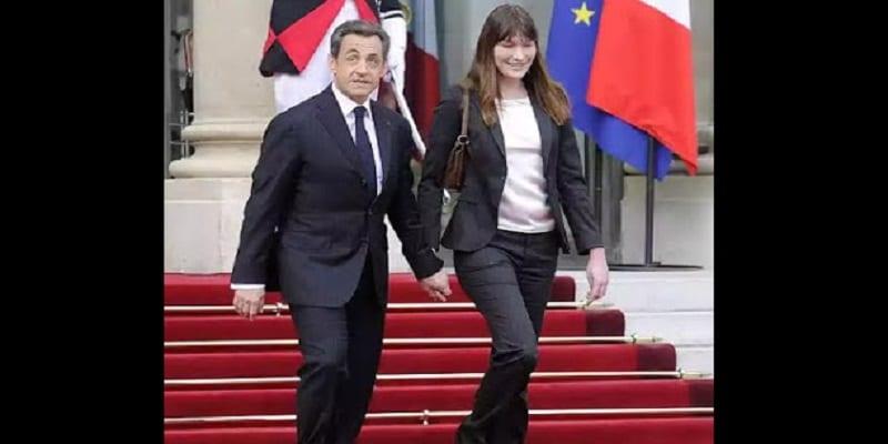 Photo de Nicolas Sarkozy: Carla Bruni l'égorgera  et lui coupera les oreilles dans son sommeil s'il l'a trompe