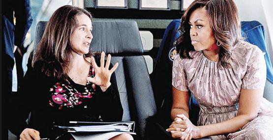 Photo de Découvrez celle qui se cache derrière les brillants discours de Michelle Obama