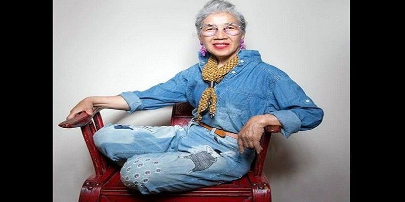 Photo de Une mémé de 80 ans impressionne sur internet avec son style: PHOTOS