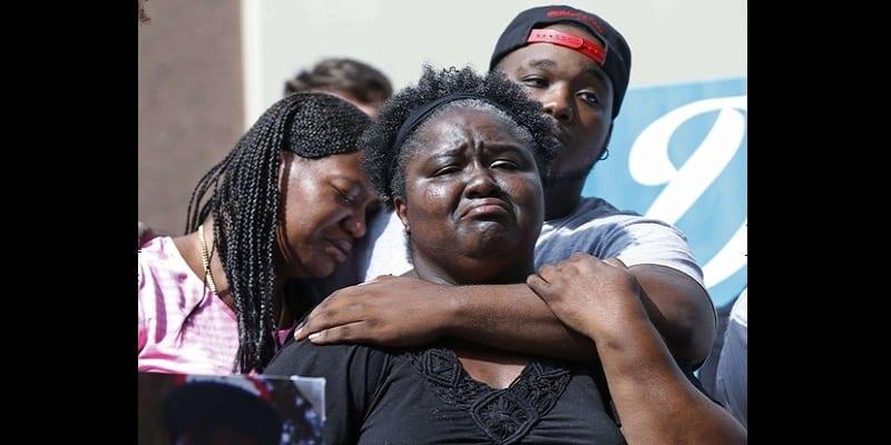 Photo de USA: nouvelle bavure policière, un noir de 27 ans abattu à Los Angeles (photo)