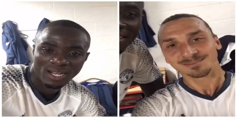 Photo de Manchester United : Zlatan Ibrahimovic crée la polémique avec une blague raciste à l'Ivoirien Eric Bailly