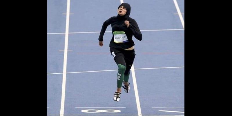 Photo de RIO 2016: la tenue d'une sprinteuse saoudienne crée la polémique