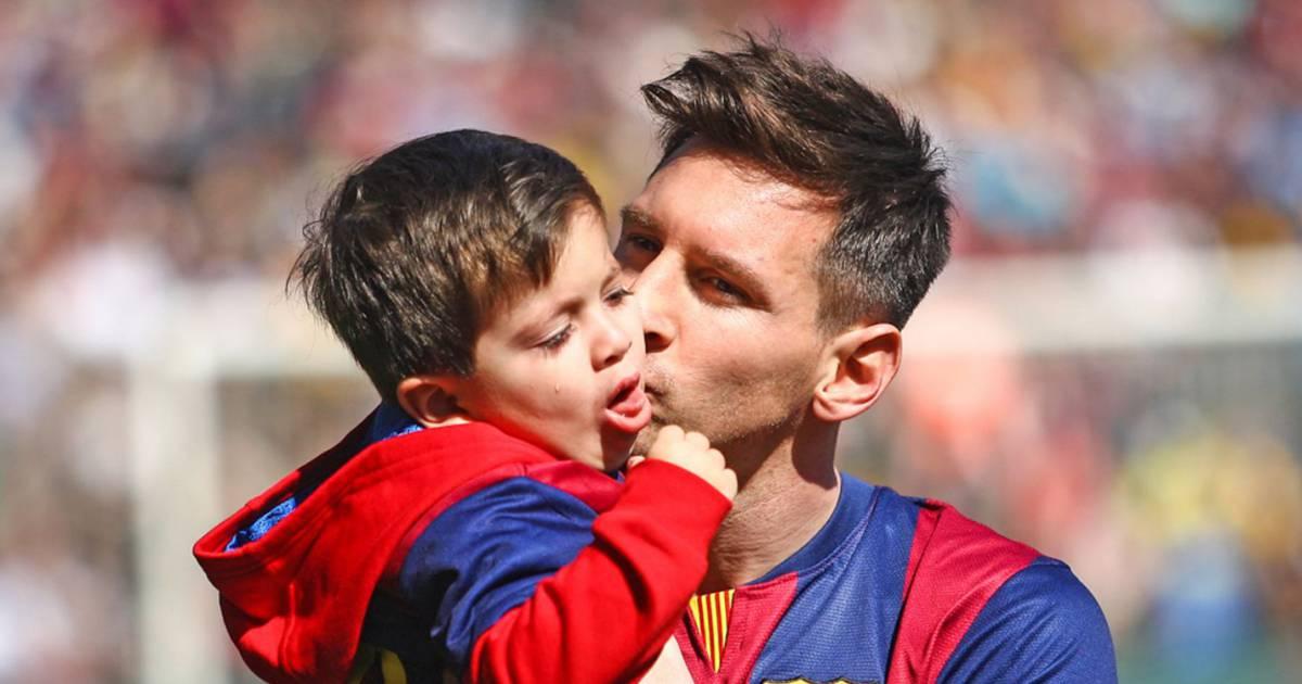 Photo de le Barça va recruter le fils de Lionel Messi âgé de 3 ans