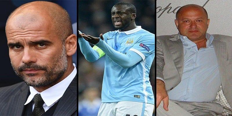 Photo de Manchester City:  Guardiola prend une grave décision contre Yaya Touré après l'attaque de son agent