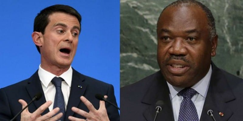 Photo de Gabon : Manuel Valls met la pression sur Ali Bongo