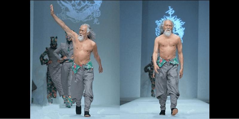 Photo de Chine: il devient mannequin à 80 ans… (photos)