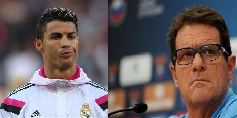 """Photo de Fabio Capello: """"Le problème du Real Madrid, c'est Cristiano Ronaldo"""""""
