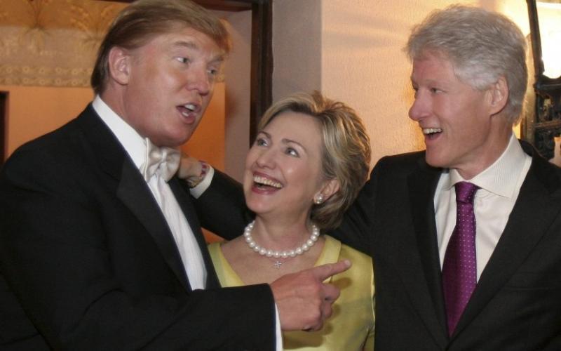 Photo de L'époque où Trump et Hillary étaient complices