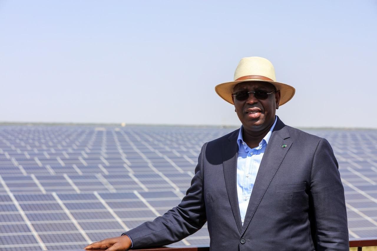 Photo de Macky Sall inaugure la plus grande centrale solaire d'Afrique de l'Ouest