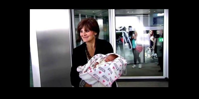 Photo de A 62 ans, elle accouche de son troisième enfant…photos