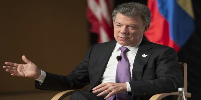 Photo de Le prix Nobel de la paix attribué au président colombien Santos