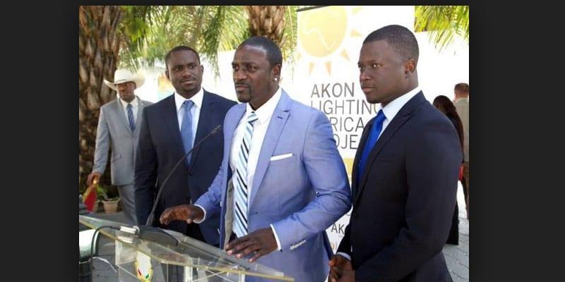 Photo de Le manque d'électricité au Liberia fait réagir Akon