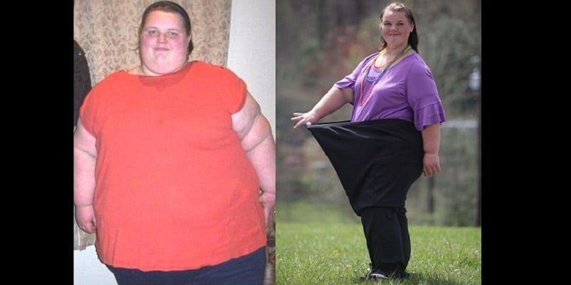 Photo de La plus grosse femme britannique pesant 254 Kg larguée par son petit ami, après une perte de poids