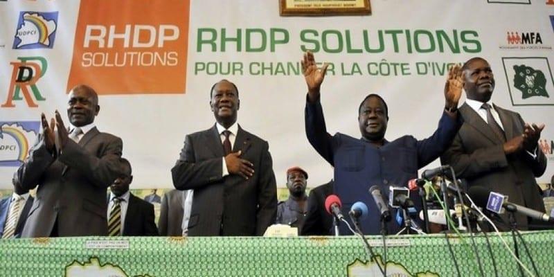 Photo de Côte d'Ivoire: Le RHDP vers un parti unifié avant août ?