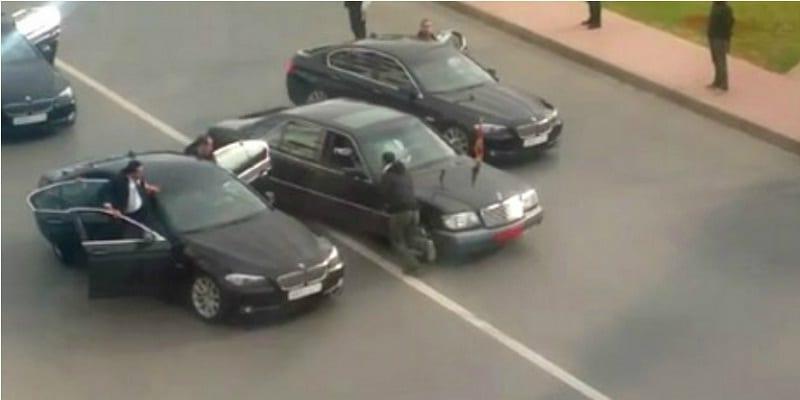 Photo de Casablanca: Le convoi du roi Mohamed VI de nouveau attaqué…Vidéo