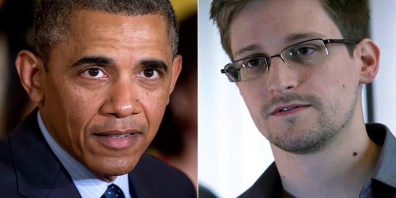 Photo de Obama révèle pourquoi il refuse de gracier Edward Snowden