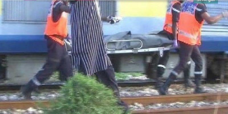 Photo de Sénégal: Un train décapite un malade mental