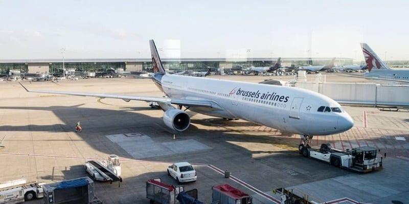 Photo de 41 passagers ivres à bord de Brussels Airlines retardent le vol