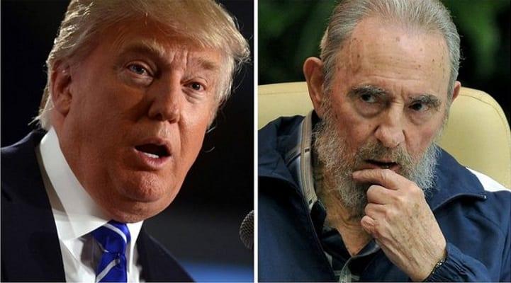 Photo de Fidel Castro était un «dictateur brutal», selon Donald Trump