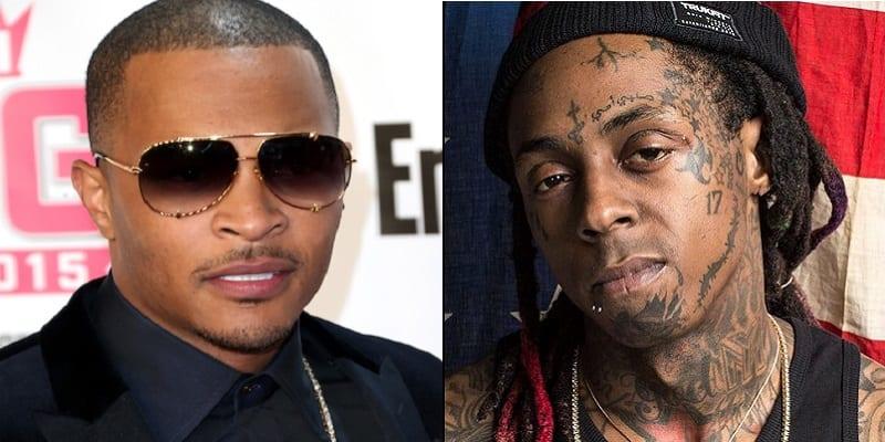 Photo de USA: T.I sort de sa réserve contre Lil Wayne…La raison!
