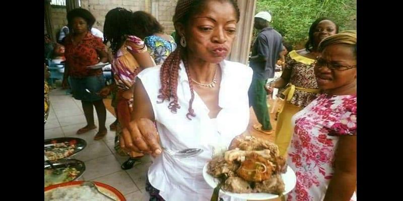 Photo de Insolite : Le plat d'une femme fait des mécontents…les raisons
