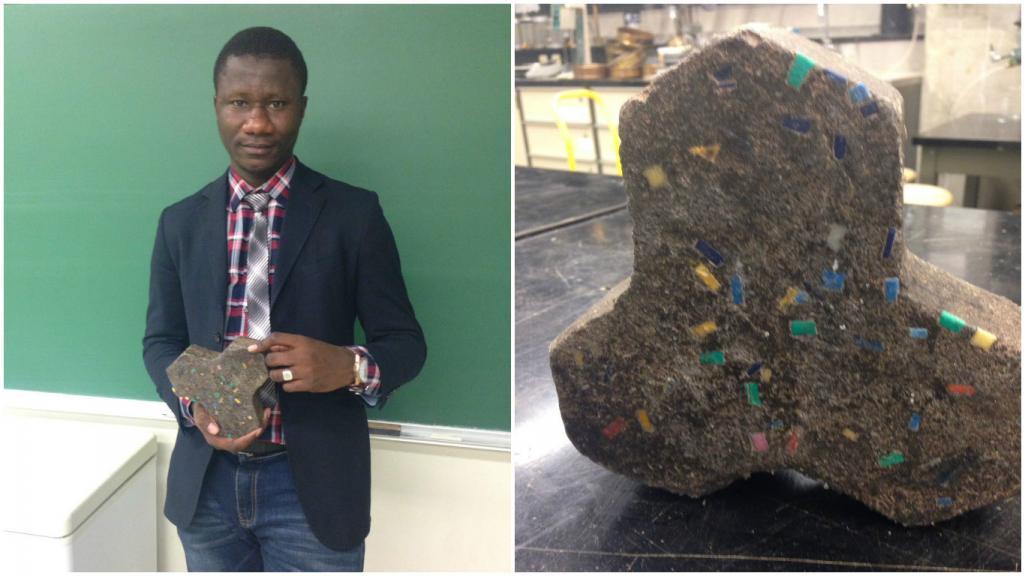 Photo de Un jeune malien invente du ciment moins polluant