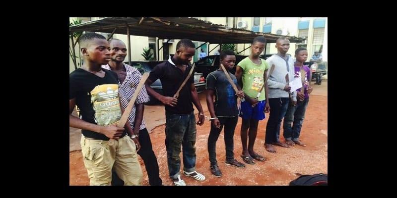 Photo de Côte d'Ivoire: voici un acte horrible commis par les microbes sur un jeune homme