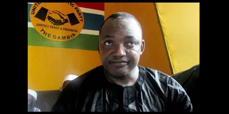 Photo de Gambie: la stratégie d'Adama Barrow pour remporter les élections devant  Yahya Jammeh