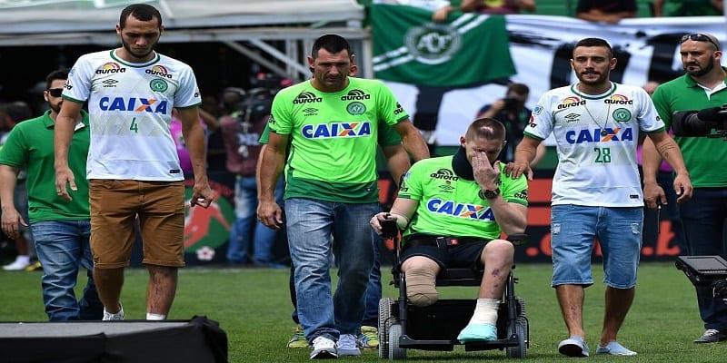 Photo de Deux mois après le drame du crash, l'équipe brésilienne Chapecoense a rejoué