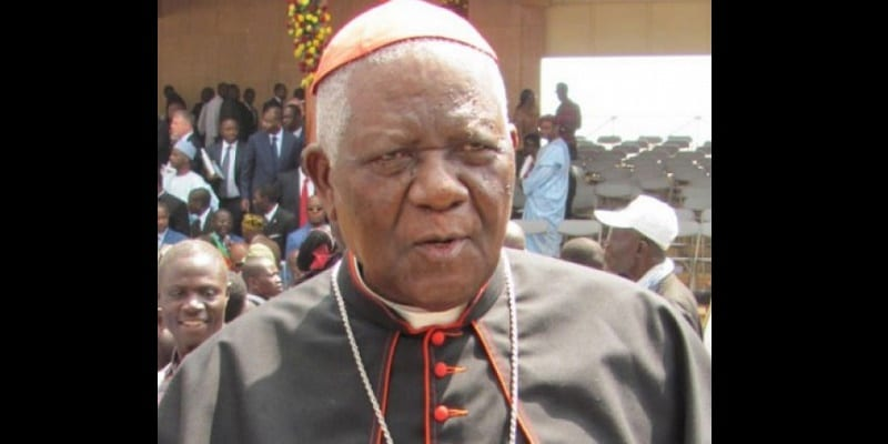 Photo de Cameroun: Le Cardinal Tumi donne son avis sur les contestations de Bamenda et Buéa