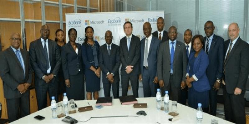 Photo de Togo: Voici ce que veulent faire  Microsoft et Ecobank pour l'Afrique.