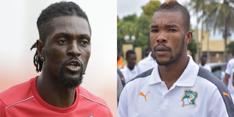 """Photo de """"Affrontement"""" entre Serey Dié et Emmanuel Adebayor… Ce qu'il en est réellement (Vidéo)"""