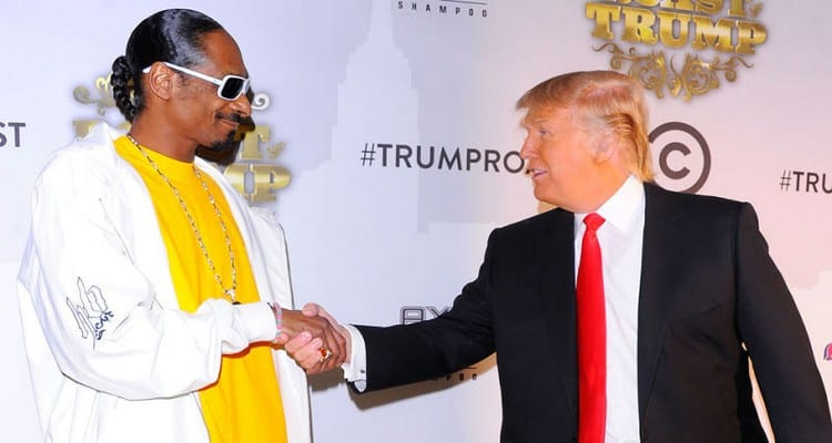 Photo de Le chanteur Snoop Dogg se moque du président américain, Donald Trump