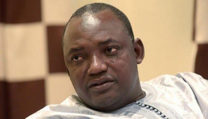 Photo de Gambie: Le Fils d'Adama Barrow tué à Banjul…Photos