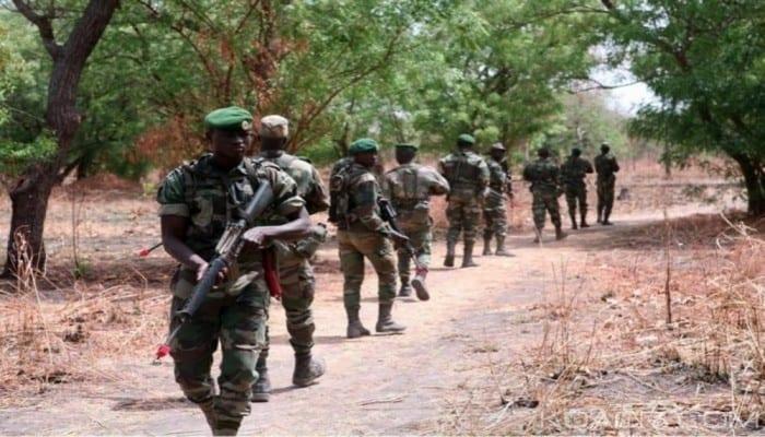 Photo de Les troupes sénégalaises sont entrées en Gambie (porte-parole de l'armée)