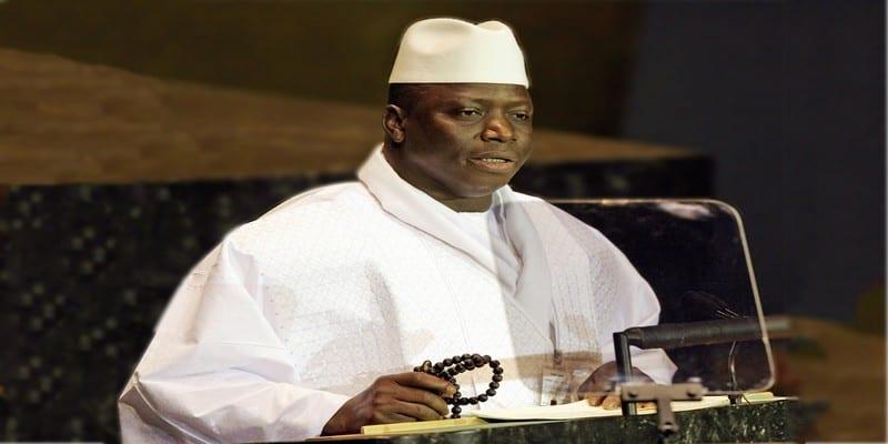Photo de Après avoir accepté de quitter le pouvoir, voici la déclaration de Yahya Jammeh