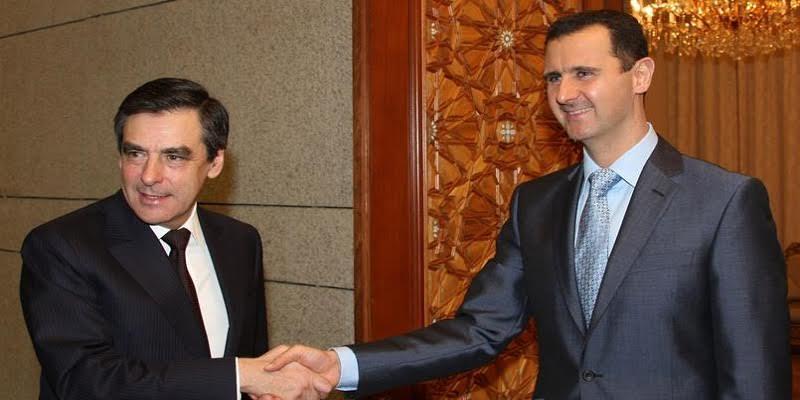 Photo de Bachar el-Assad pour l'élection de François Fillon…Explication!