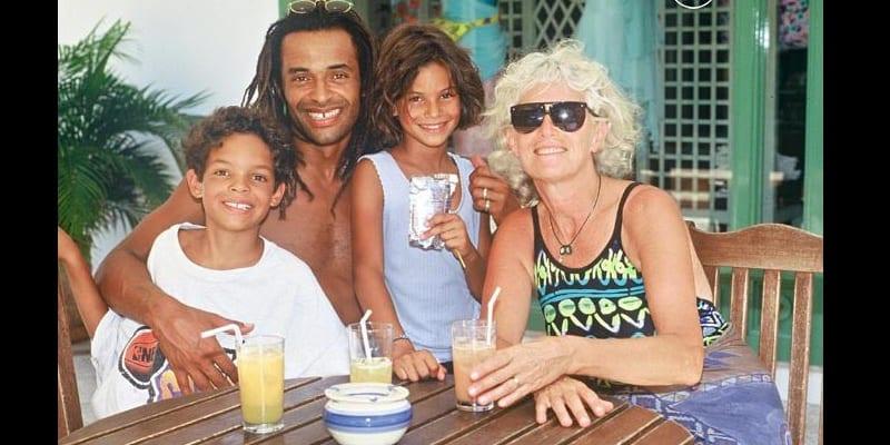 Photo de Bonne nouvelle dans la famille de Yannick Noah…photos