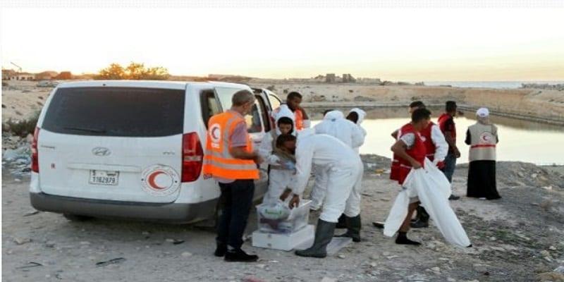 Photo de Libye: des migrants morts asphyxiés dans un conteneur