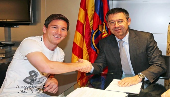 Photo de Le FC Barcelone propose un incroyable salaire à Lionel Messi pour son nouveau contrat