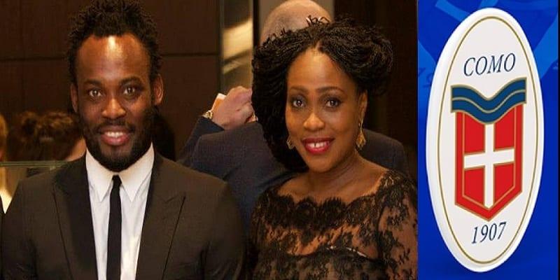 Photo de L'épouse de Michael Essien achète un club de football Italien