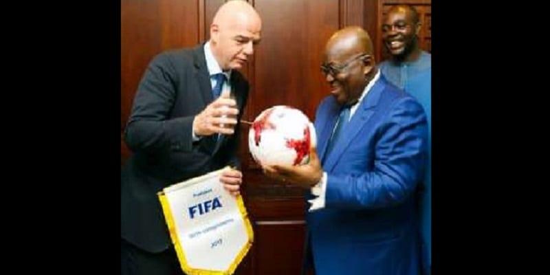 Photo de Ghana: le président Nana Akuffo-Addo a t-il joué pour les Black Stars?