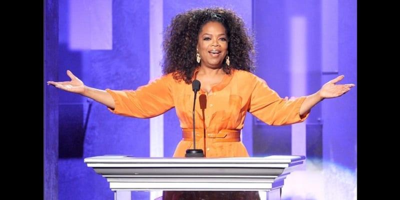 Photo de Oprah Winfrey vise la maison blanche depuis la victoire de Donald Trump.