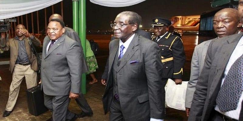 Robert Mugabé de retour